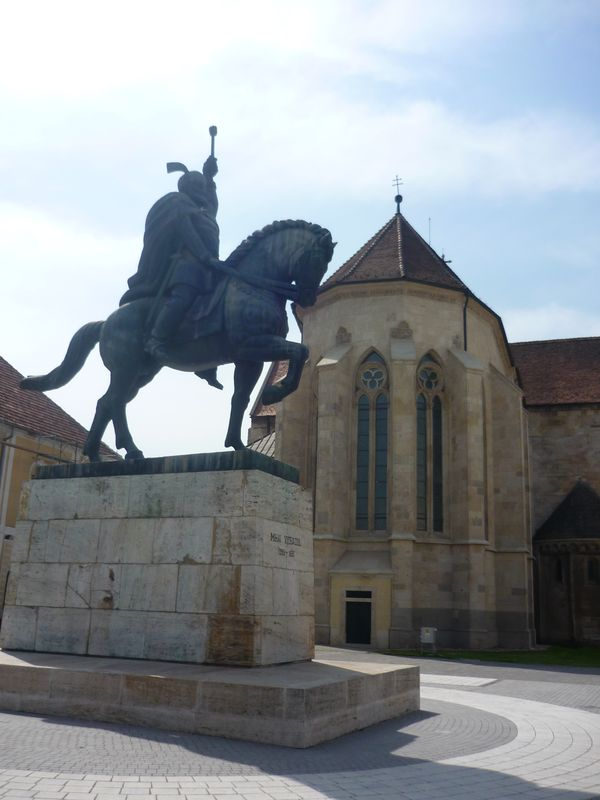 Mihai Viteazul statue from Alba Iulia