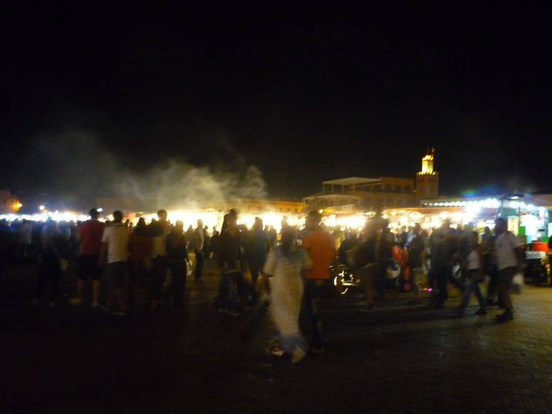 Djemaa el Fna in the evening