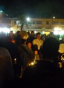 Djemaa el Fna in the evening