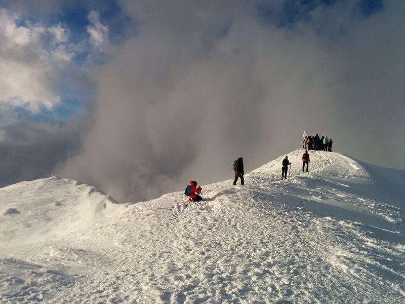 the Ciucas peak - 1954m