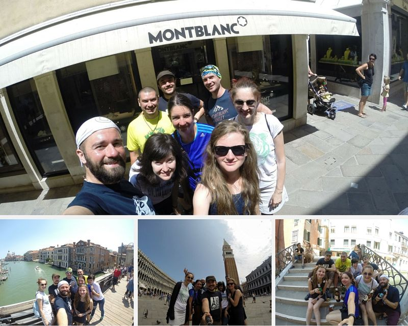 Venice selfies