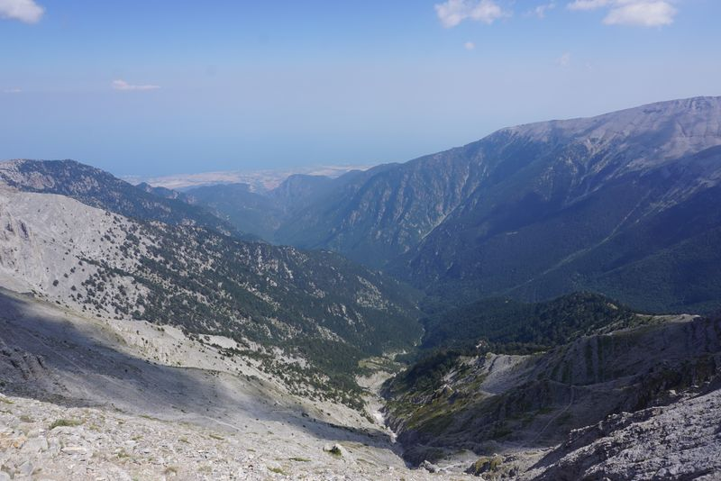 olympus descent