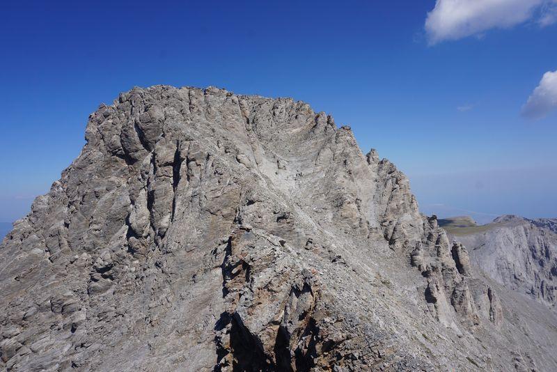 Mytikas peak