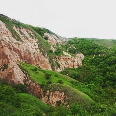 Red ravine