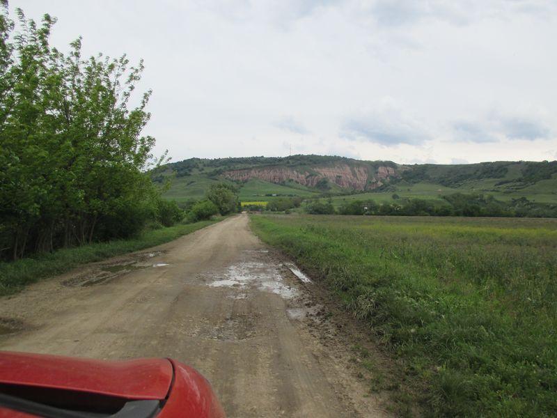 heading towards the Red ravine