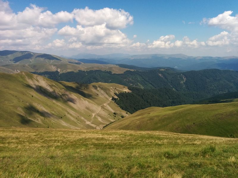 cycling Baiului mountains day 2 route