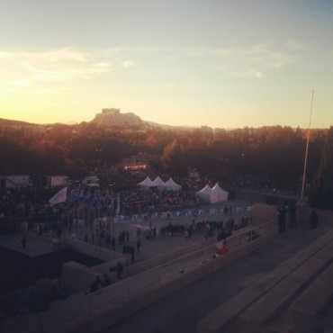 Running the Classic Athens Marathon