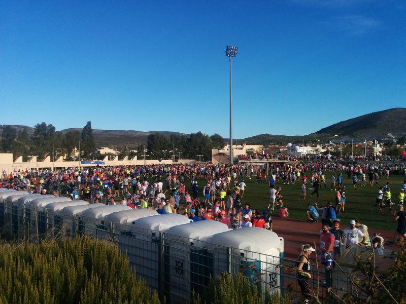 Marathon stadium