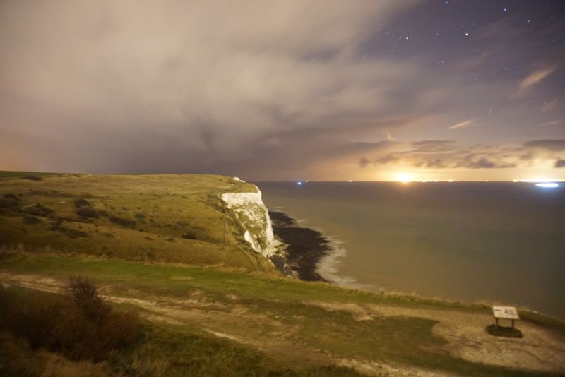 the awesome White Cliffs of Dover