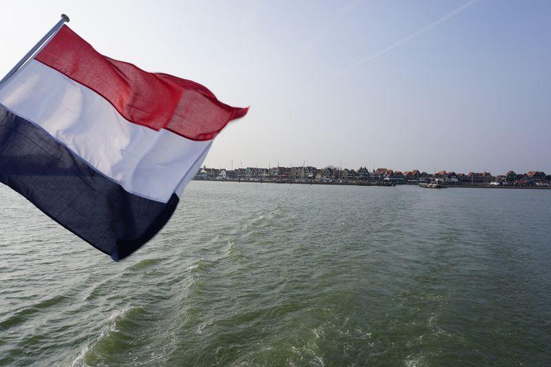 boat ride from Volendam to Marken