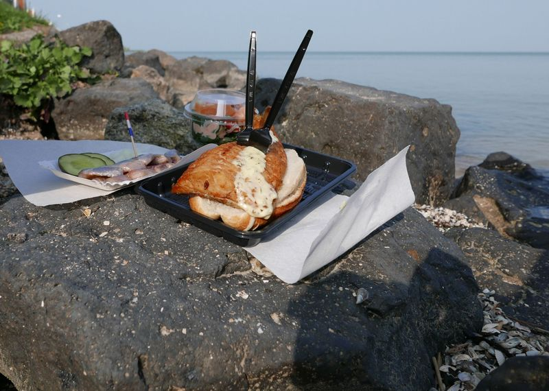 seafood in Volendam