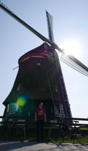 Windmill in Volendam